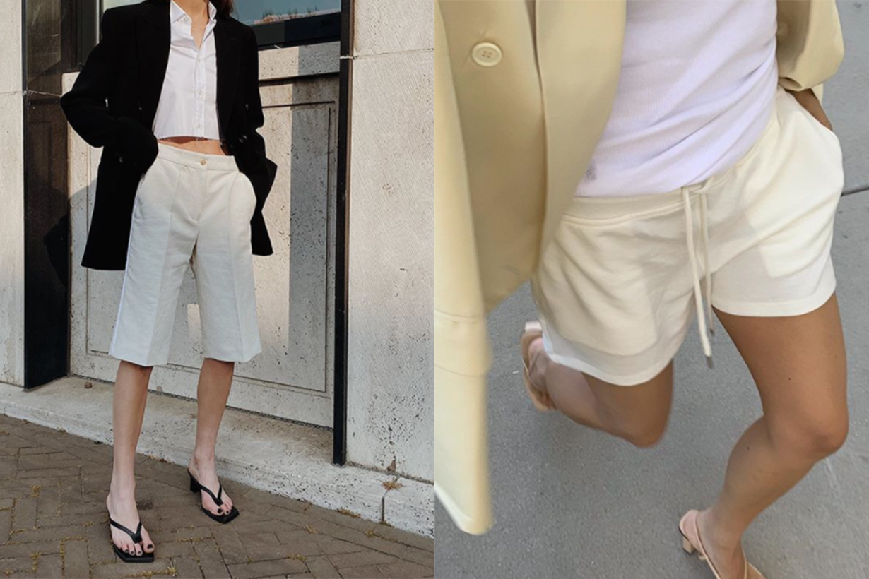 These 4 Shoe Styles Make Shorts Look Way Chicer
