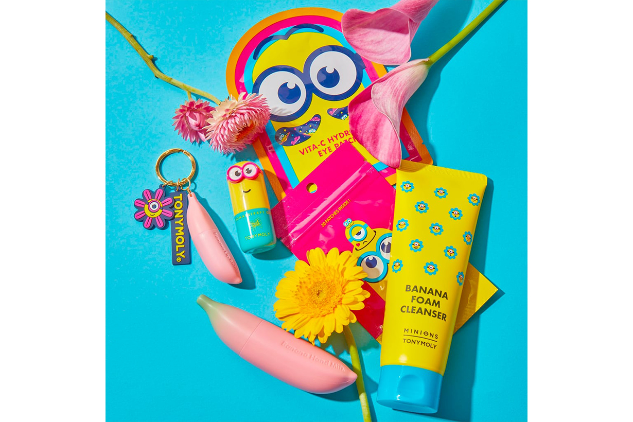 TONYMOLY X Minions Skincare Collection