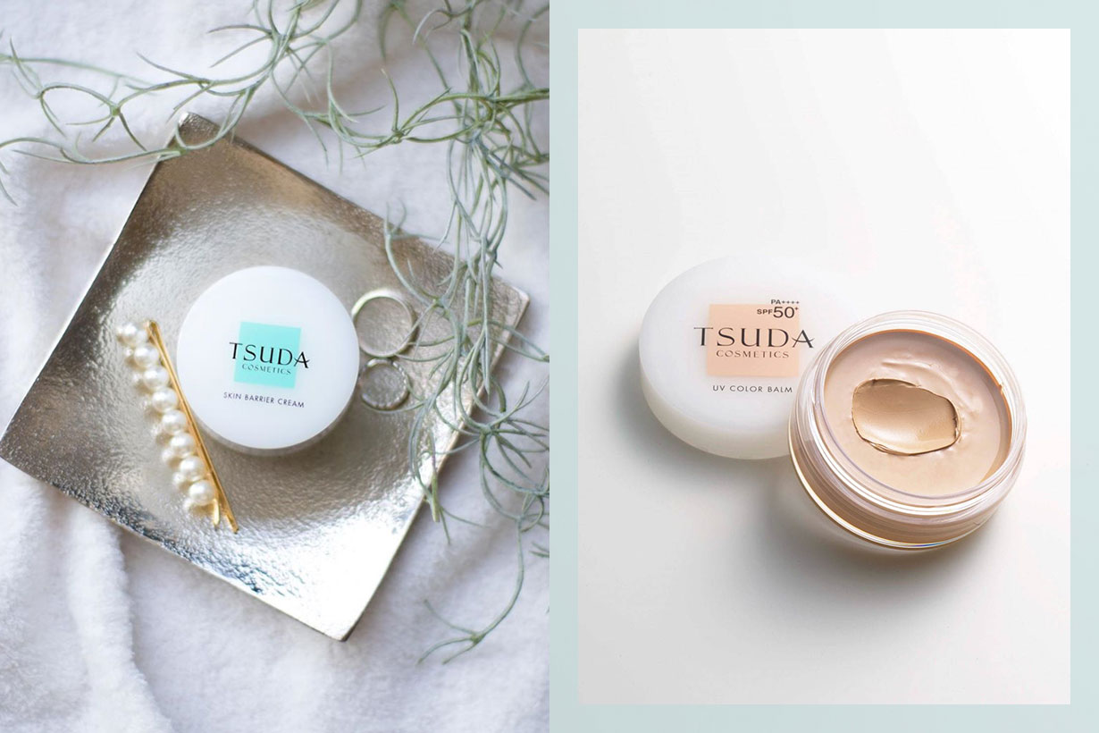 Tsuda Cosmetics UV Color Balm Japanese Skincare