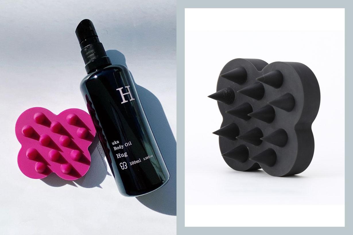 uka scalp brush kenzan hair care product