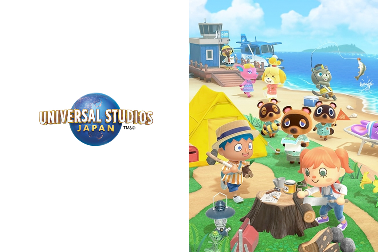 animal crossing japan universal studios soft toy
