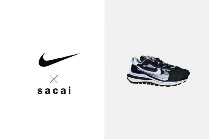 複雜間帶些極簡:Nike x Sacai 聯乘波鞋黑白配色,即將一雙難求!