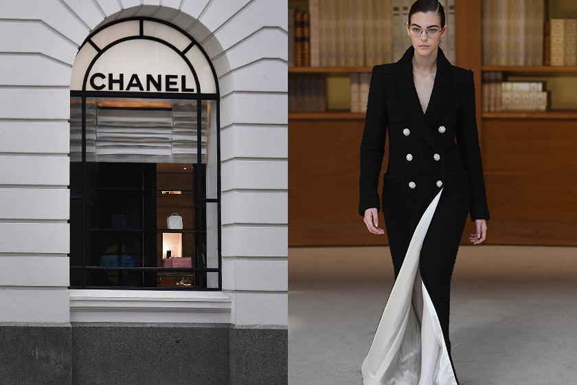 chanel fashion show doesnt want to change the fashion system