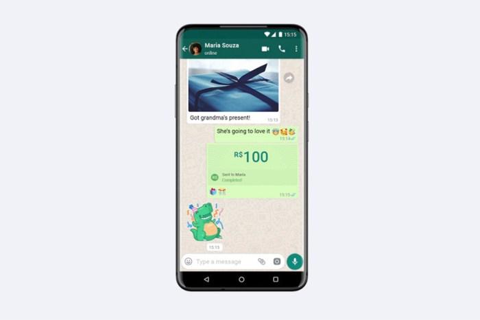 Whatsapp 付款功能來了!以後付款或轉賬跟分享照片一樣容易