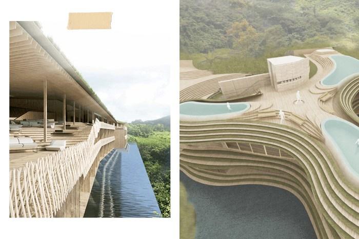 環繞在山林之中,面對閃亮大海… 隈研吾操刀 WUMA 台東知本溫泉度假村 2021 開幕!