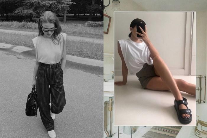 不過分的時髦:今夏墊肩上衣流行指數 100%,低調中也能展現的率性俐落!