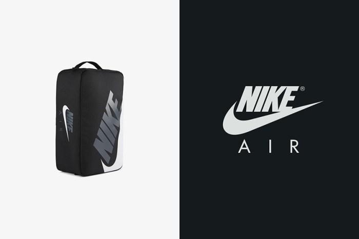 引起潮流女生們熱烈討論,Nike 這款仿造鞋盒設計的手袋再度推出黑色版本!