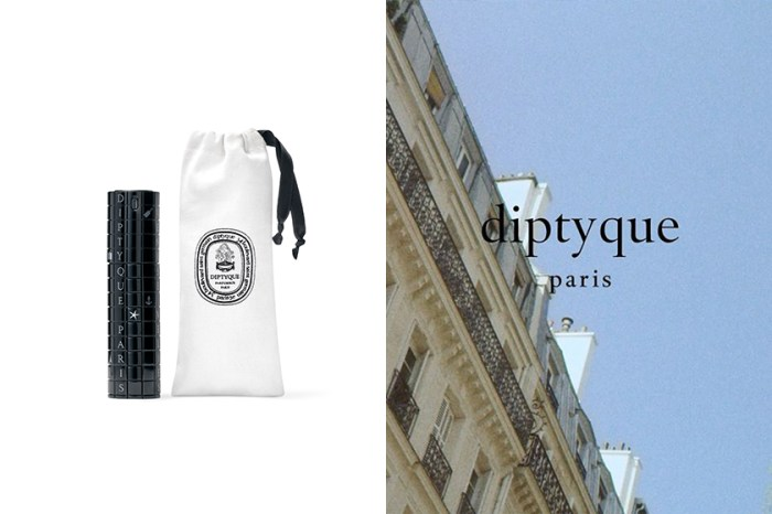 讓香氛成為妳旅行的記憶:diptyque 推出隨身香水瓶,極美外型還能拼上獨特文字!