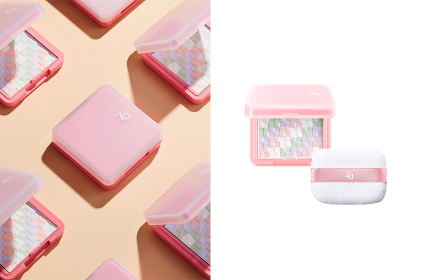Za Pink Setting Powder 2020 summer