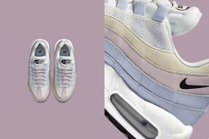 充滿療癒的夏日色彩:Nike 為人氣 Air Max 95 推出粉嫩漸層色設計!