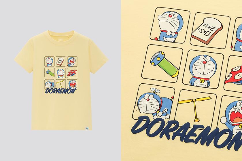 Uniqlo UT Doraemon 50th Stand by Me