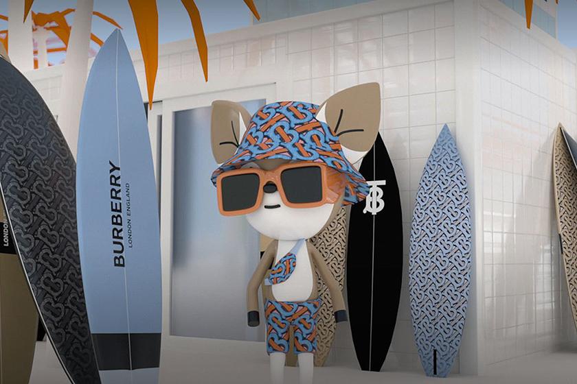 Burberry 2020ss TB Monogram B Surf Game