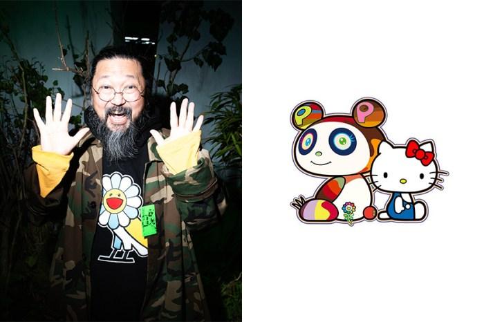 下一個眾人關注的強勢聯名:這次村上隆找來人氣角色 Hello Kitty 推出合作!