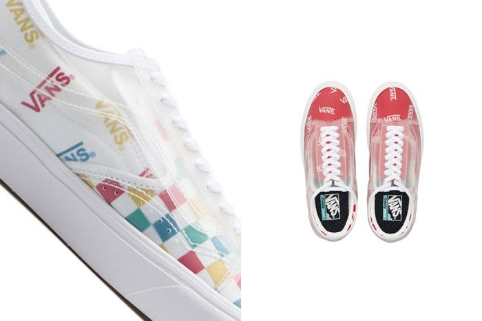 半透明物料中藏著著經典鞋型:Vans 再度為這雙人氣款式推出新配色設計!