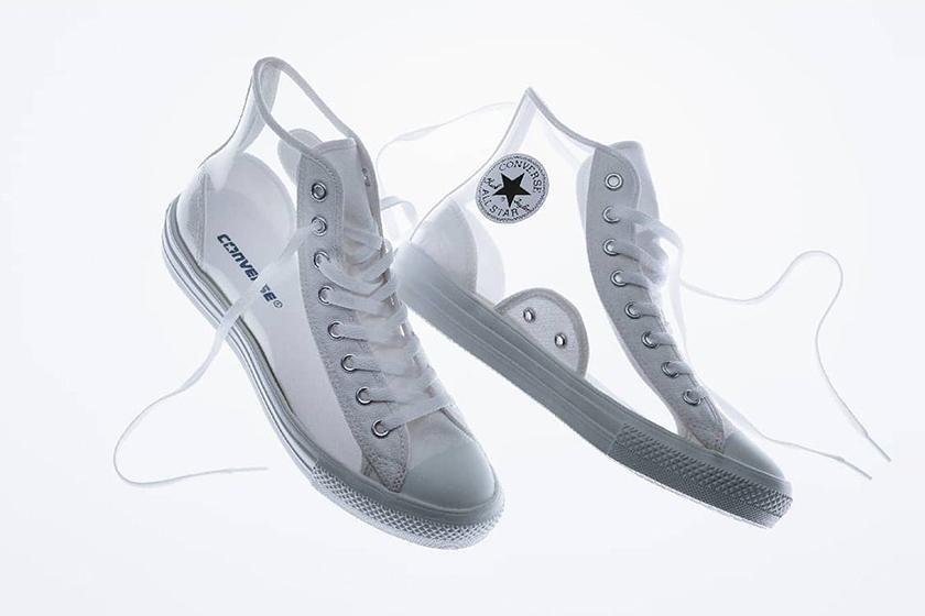 Converse All Star Light Clearmaterial Hi Transparent Sneaker