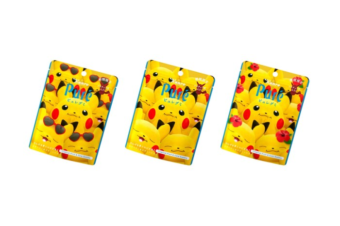 一推出立即引起搶購:人氣皮卡丘與 Pure Gummy 再度帶來可愛軟糖新口味!