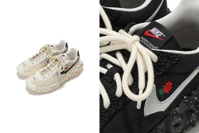一朵玫瑰點綴:Nike 話題滿分的這雙鞋履與 UNDERCOVER 再次聯名合作!