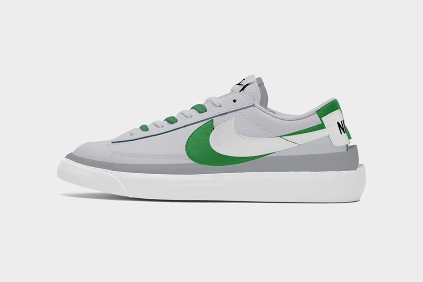 Nike x sacai Blazer Low New Color 2021 Release