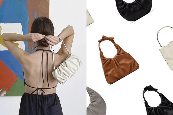 澎鬆的抓皺質感:小眾品牌 Staud 這款手袋剛推出已引起時尚女生關注!
