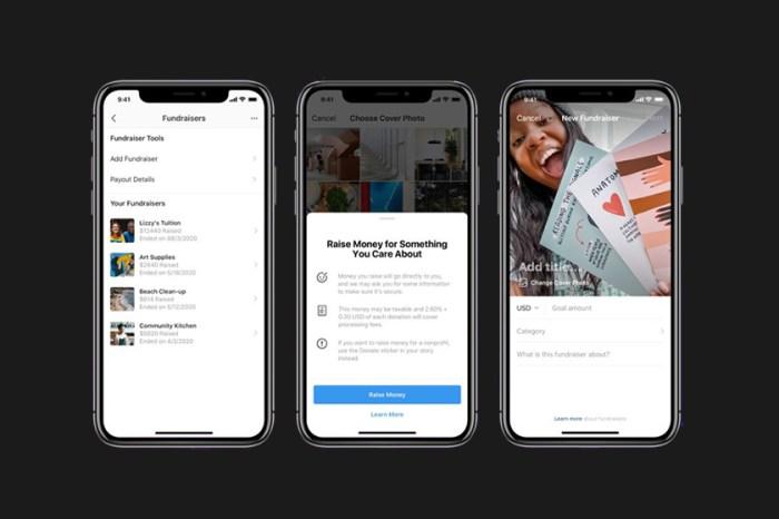 因應時事:Instagram 新功能即將上線,未來你也可以在 IG 發起個人募資活動!