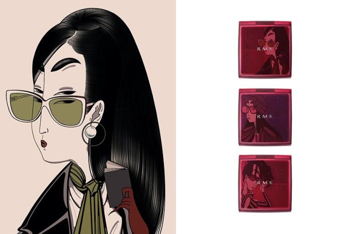 迷人的古典美:日本彩妝品牌 RMK 將浮世繪的風情女子注入彩妝靈感中!