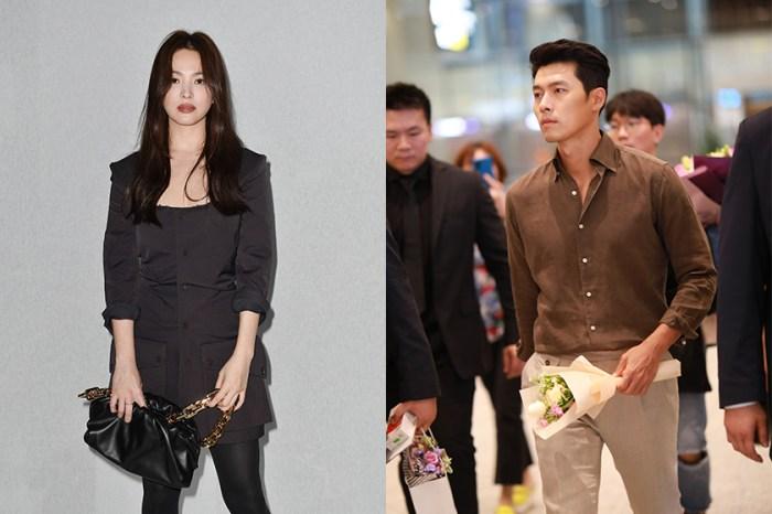 被爆出夜晚並肩散步:玄彬、宋慧喬是否復合的消息引起韓國網民的熱烈討論!