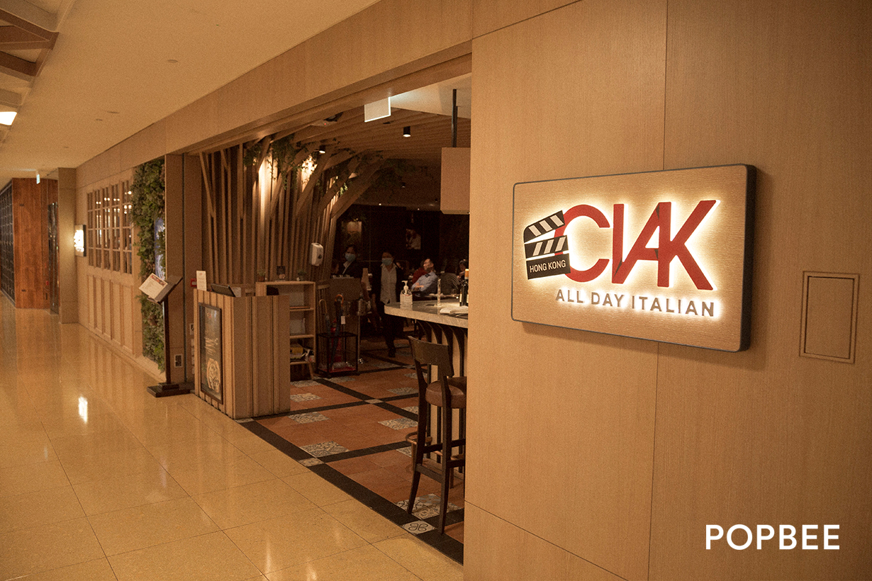 CIAK All Day Italian in TaiKoo Shing Hong Kong