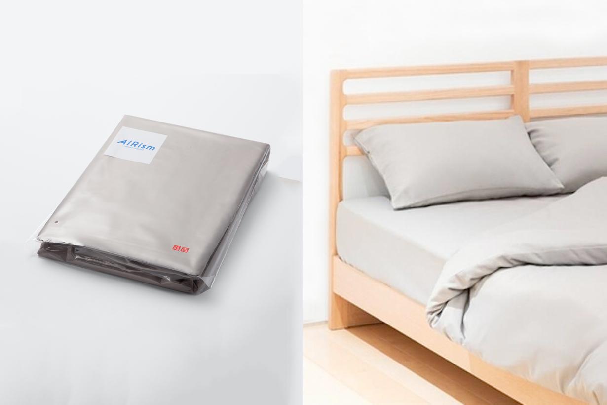 uniqlo airism bedsheet pillowsheet taiwan summer release