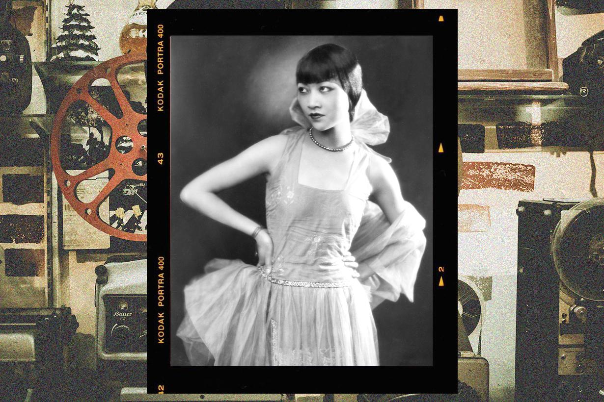 Anna May Wong First Chinese Actress Hollywood Four Ladies of Hollywood gazebo Marilyn Monroe Babylon Angelababy Chloe Zeng Mei Hui Zi