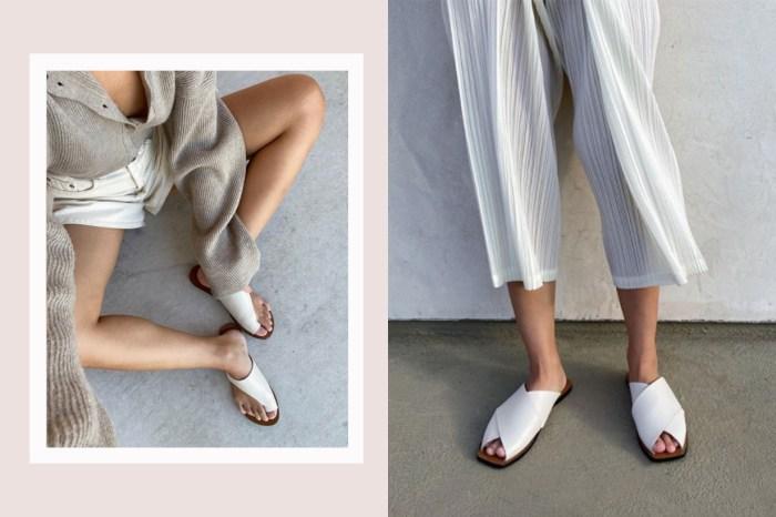 想找時尚的皮革拖鞋?這個北歐品牌,簡約系女生都默默關注!