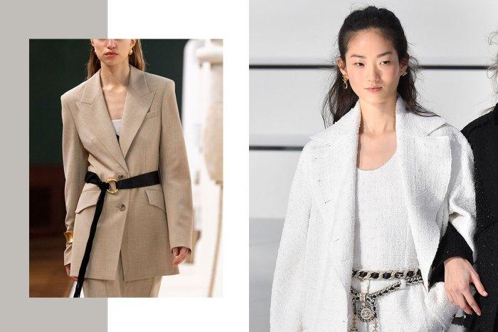 Chanel、Celine…也用的配搭技巧:今季要這樣穿西裝外套才時尚!