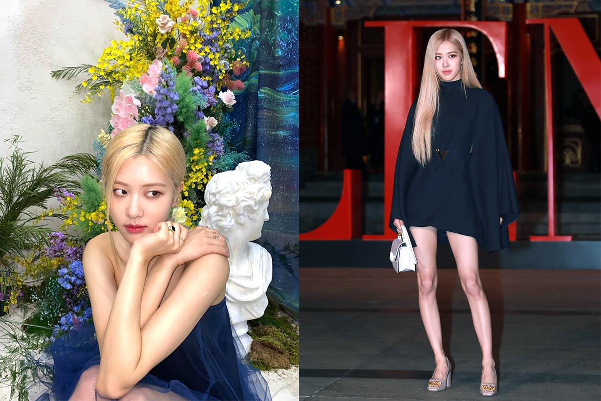 BLACKPINK Rosé Suzy Bae dating rumours Lovestagram YSL Dior Paris Fashion Week Korean idols celebrities singers actresses girl bands