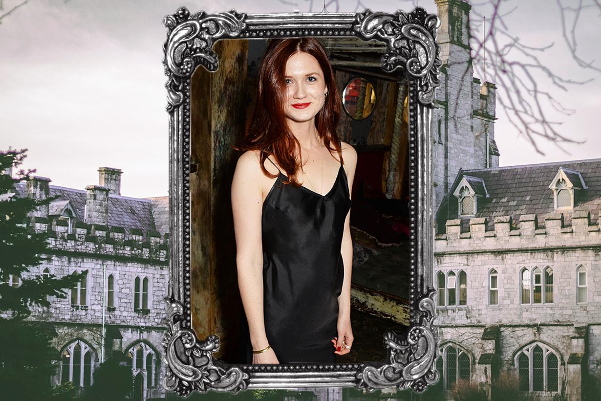 Harry Potter Ginny Weasley Bonnie Wright J. K. Rowling. Cannes Film Festival short film  Bon Bon Lumiere