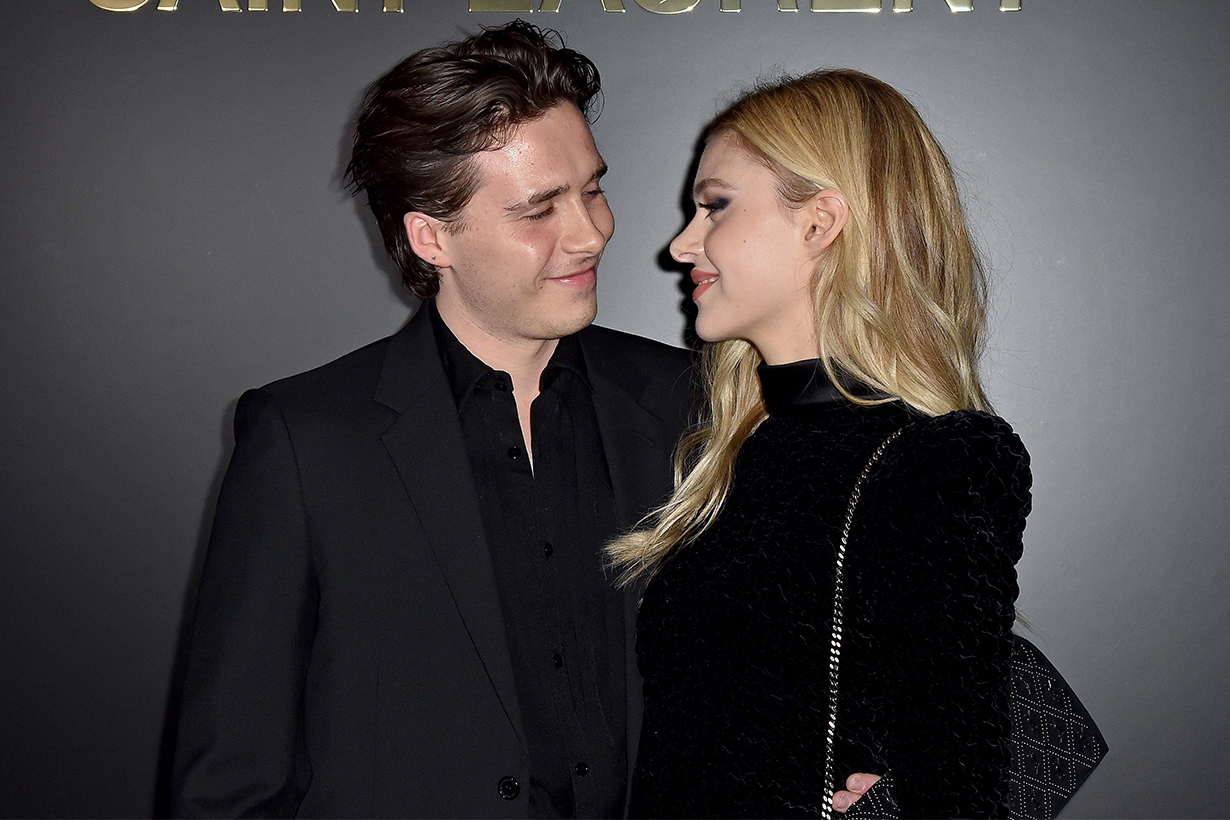 Brooklyn Beckham Nicola Peltz  wedding advertisement product placement