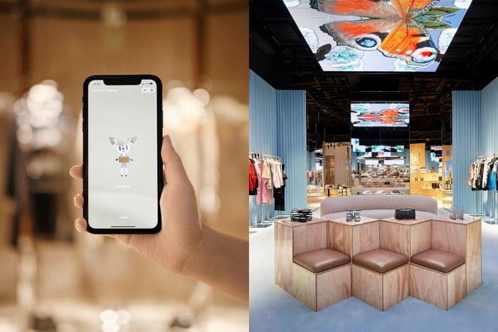 結合手機程式的進化購物體驗!Burberry 開設首間「社交零售」概念精品店