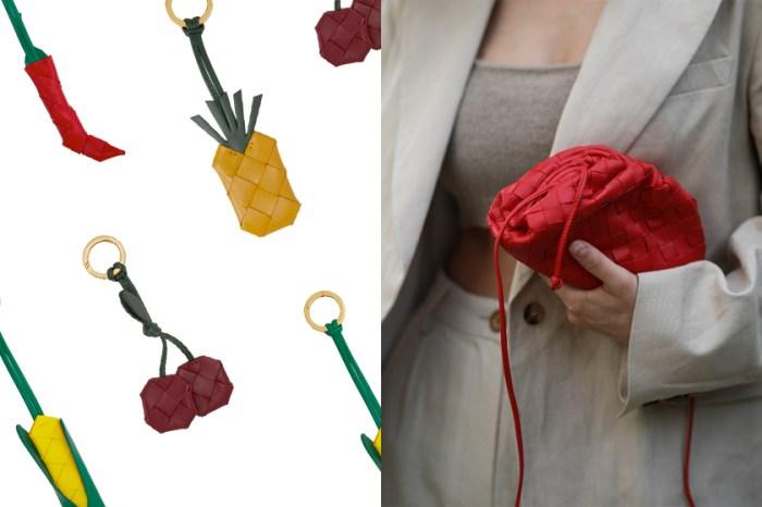 最適合夏日的小配件:玉米、鳳梨、櫻桃… BV 讓人會心一笑的時髦掛飾!