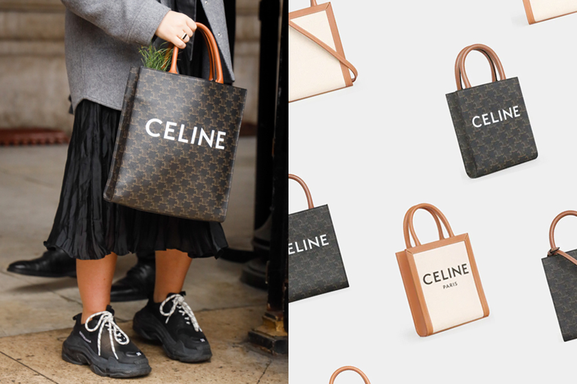 celine cabas mini size new handbags price taiwan