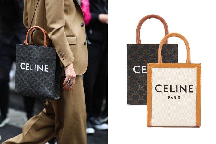 萬元以下已可入手:Celine 手挽袋變小了更可愛、更適合日常使用!