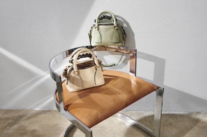 一袋三用的 Chloé 的人氣袋款,令人期待的新色將登場!
