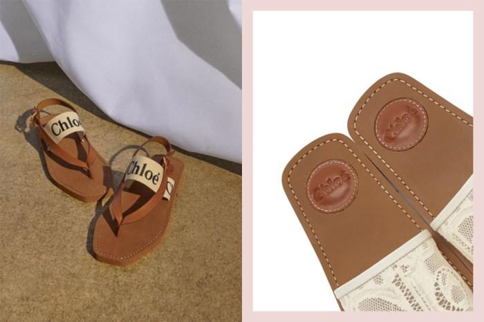 Chloé 不只手袋令人動心,它的平底拖鞋也是今季 It Shoes!