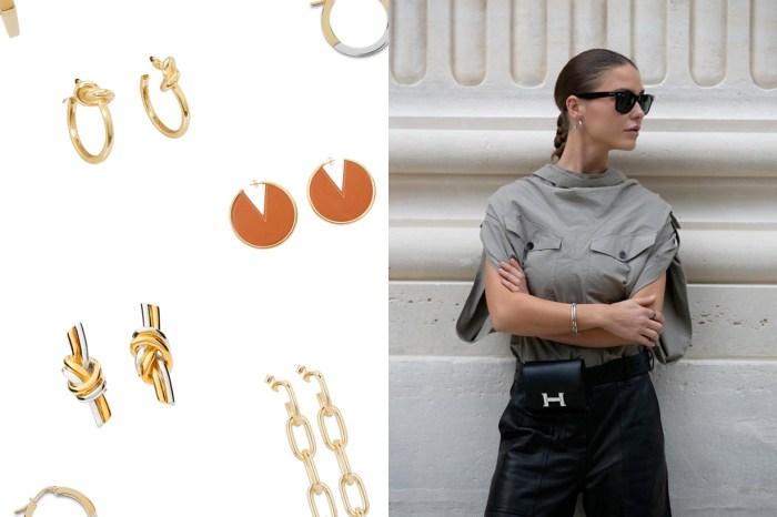 用一點點,襯托出剛剛好的氣質:Celine 的耳環打造出迷人的 Effortless Chic!