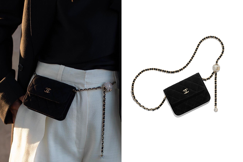 Chanel Métiers d'art Belt bags handbags 2020