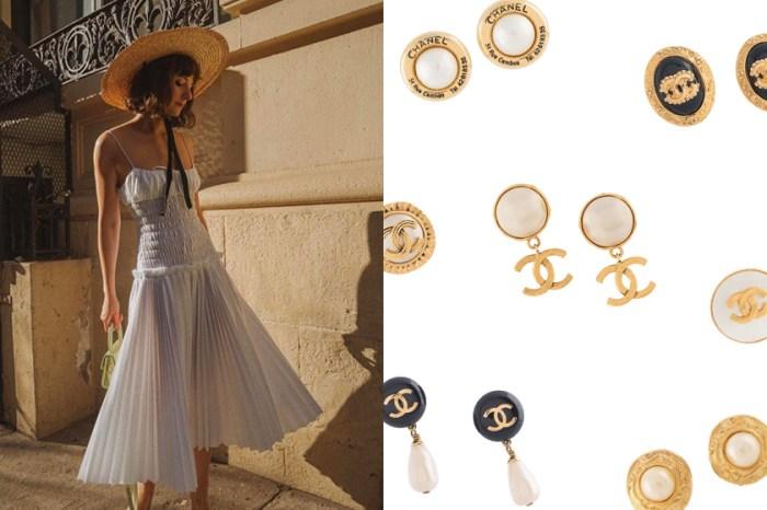 入手第一件名牌飾品:Chanel 復古耳環,在耳畔呢喃的優雅!