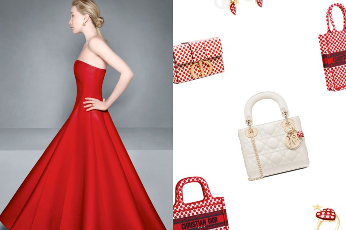 Dior 式波卡圓點將洗版社群:Lady Dior、Book Tote… 經典都換上了迷人的圈圈!