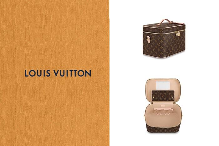 Louis Vuitton 絕美復古化妝箱+手袋,再推出簡約迷你款式!