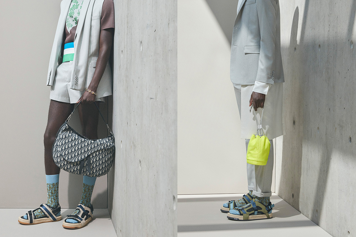 Dior Spring 2021 menswear handbags collection