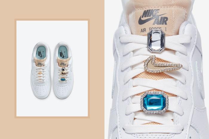 華麗版 Air Force 1:Nike 這雙夢幻寶石波鞋,令人眼睛為之一亮!