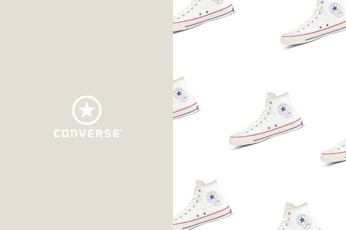 簡約米白色+雙 Logo,Converse Japan 這雙新上架的帆布鞋引起討論!