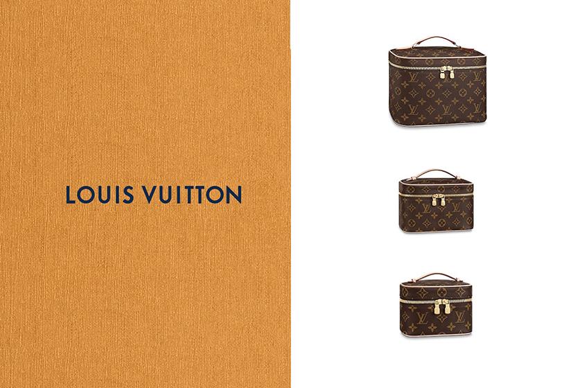 Louis Vuitton Nice Vanity Bag handbags make up Vanity case