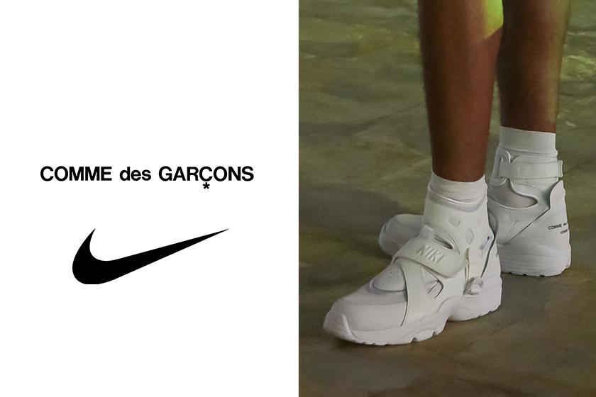 COMME des GARÇONS HOMME PLUS nike sneakers
